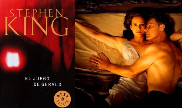 El juego de gerald de Stephen King reseña de Aarón Alva