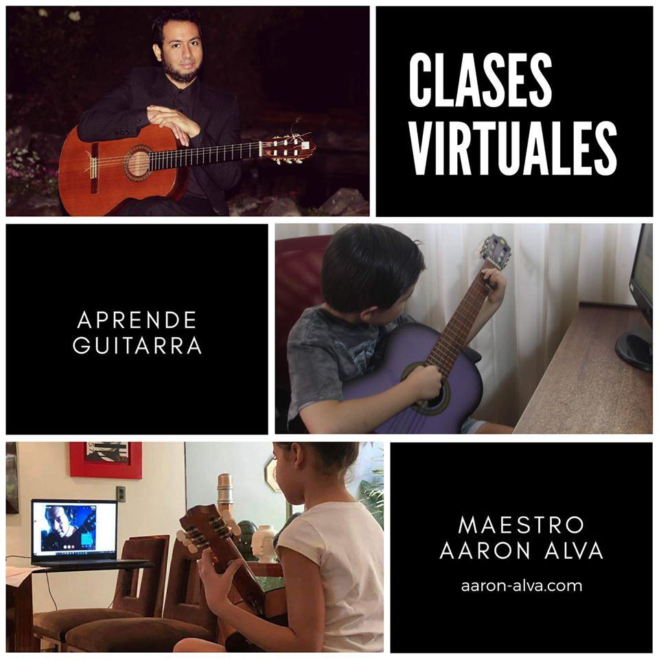 Brindo clases virtuales de guitarra clásica para los pequeños del hogar. ¡Despierta su talento!